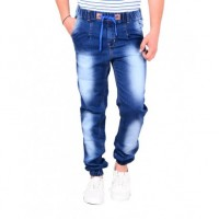 Styzon Regular Men's Blue jogger Jeans
