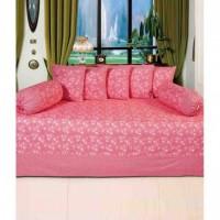 Akshya- 100% cotton Diwan set of 8 pieces